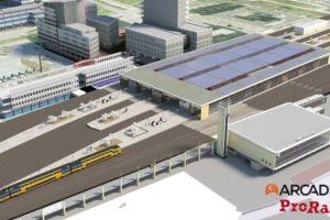Stations krijgen zonne-energie: 1900 panelen op overkapping Eindhoven
