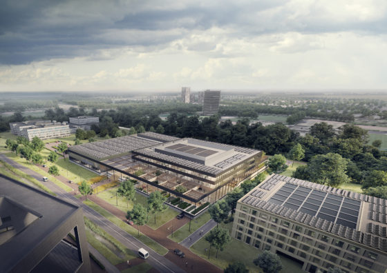 Job Dura: 'Dit is in 2019 het meest circulaire en intelligente gebouw van Nederland'
