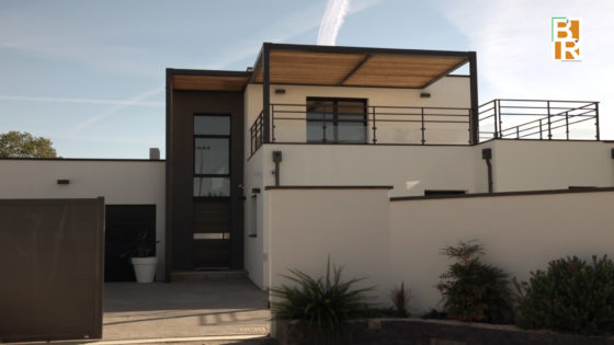 Hout En Beton : Huis hedendaagse architect in hout en beton cugnaux