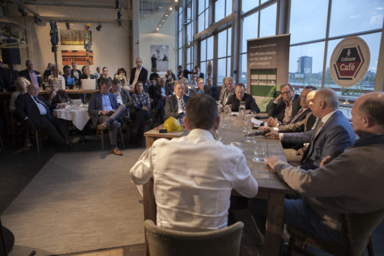 Cobouw Café Rotterdam in beeld