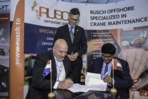 Rusch gaat onderhoud uitvoeren van kranen bij Abu Dhabi