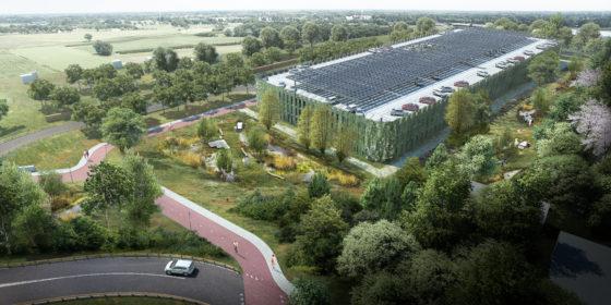 Den Bosch bouwt aan groenste transferium van Nederland