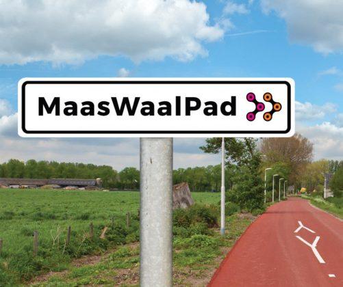 Snelfietsroute MaasWaalpad krijgt fietsbrug over de Maas