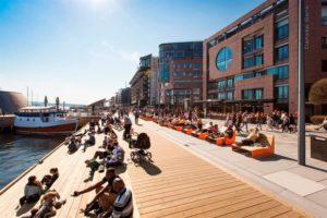 Bebouwingstypologie: Aker Brygge in Oslo