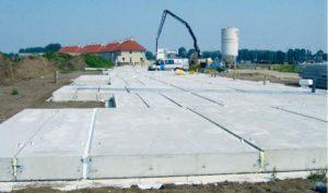 Gangbare typen betonnen systeemvloeren