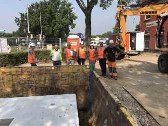 Bouwteam lost knelpunten extreme regenbui Sittard op