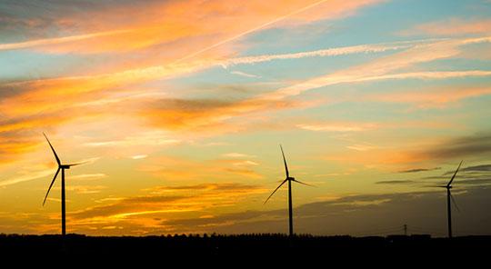 BAM en Van Gelder bouwen windpark Wieringermeer