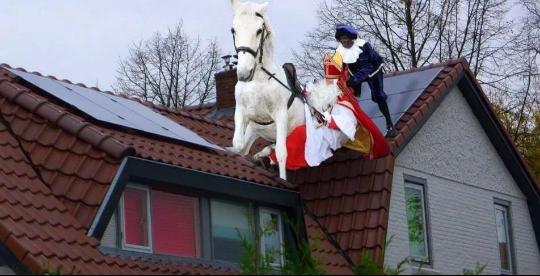 Blog: Sinterklaas, pas op voor zonnepanelen