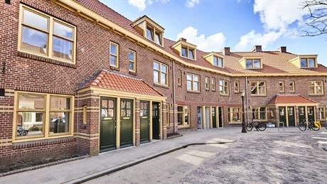 Van der Pek-buurt is t beste herontwikkelings- of renovatieproject van erfgoed.