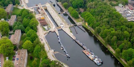 Miljoenenstrop door herbouw Sluis II Wilhelminakanaal