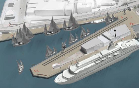 Cruise Port Harlingen krijgt drijvende steiger voor cruiseschepen