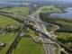 3.luchtfoto bouw spoorbrug muiderberg. bronvermelding rijkswaterstaat yourcaptain 80x60