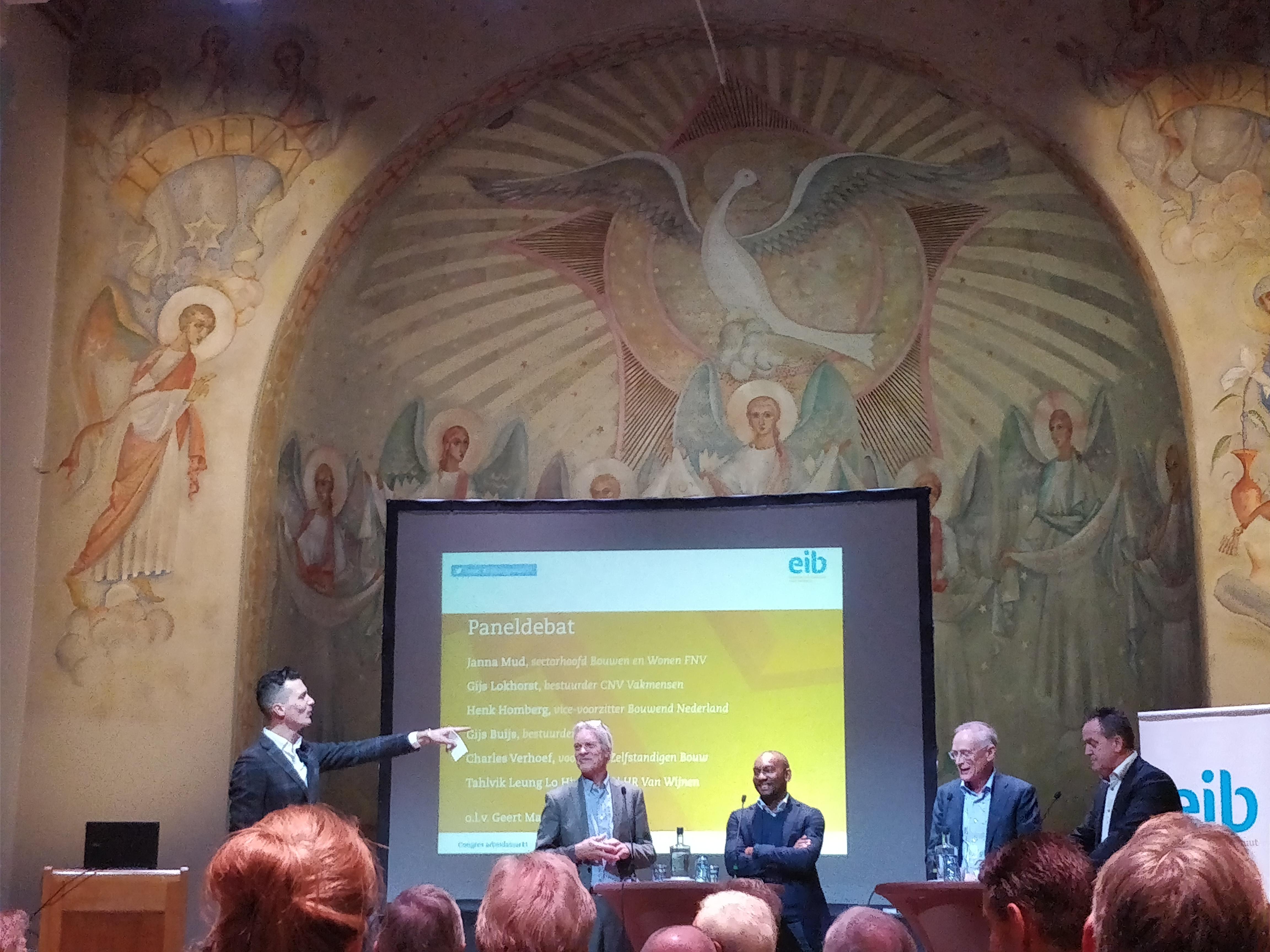 EIB-debat bouwarbeidsmarkt