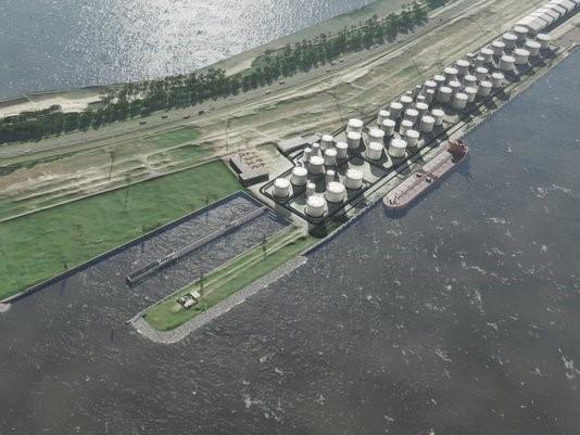 VolkerWessels, Boskalis en Mobilis bouwen mee aan nieuwe tankterminal