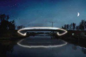 Hengelo heeft de primeur van de eerste nul-op-de-meter verkeersbrug