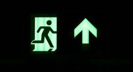 Vind altijd de weg met noodverlichting zonder netstroom