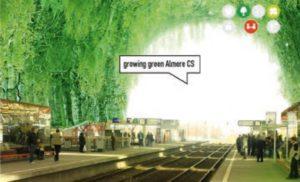 Groen gevels duurzaamheden