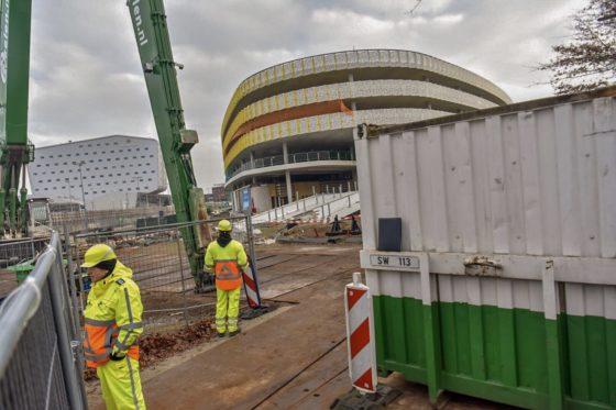 Onderzoeksraad vordert brokstukken bij sloop parkeergarage Eindhoven