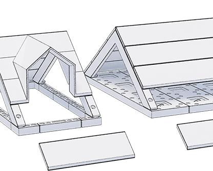 Maaiveld | Geen breedplaatvloeren in professioneel architecten-lego