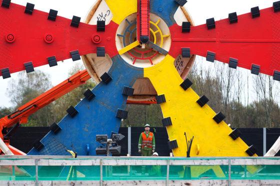 Alle rituelen van stal voor start boren tunnel Rotterdamse Baan