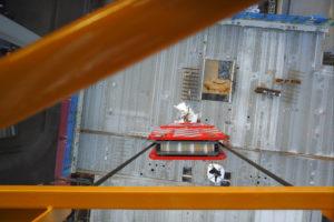 Camera's in de torenkraan voeden het BIM systeem