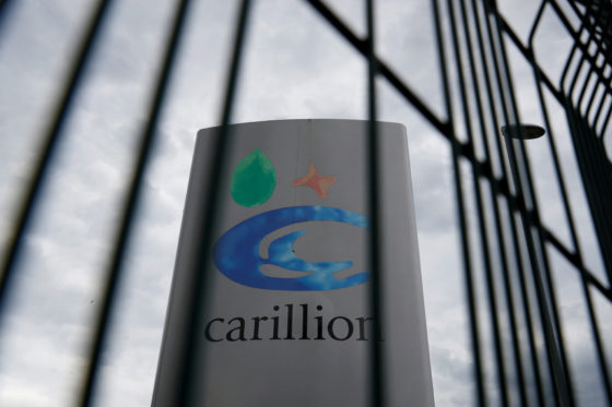 Britse bouwer Carillion failliet na mislukt overleg