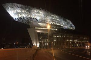 Het jongste icoon van Antwerpen kan al wel weer een likje verf gebruiken
