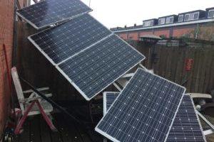 Zonnepanelen kwetsbaar bij storm: 'je kunt niet eindeloos ballast plaatsen'