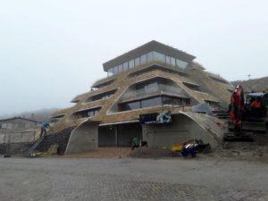 neuwbouw hotel bouwbericht