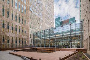 Innovatief mini-poldertje bovenop Haags WTC