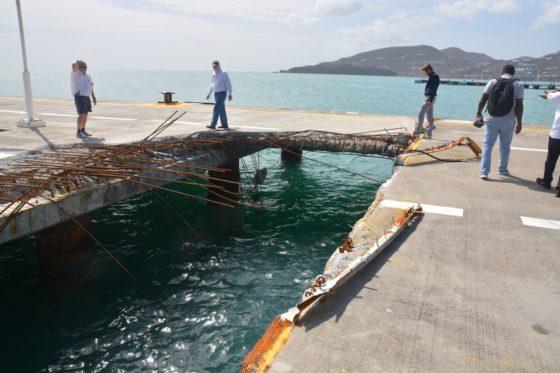 LievenseCSO maakt plannen voor herstel haven Sint-Maarten
