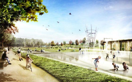 Van Gend en Loosterrein Tilburg verandert in park