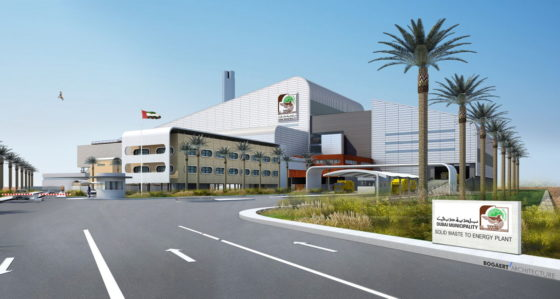 Besix bouwt reusachtige afvalverbrander in Dubai