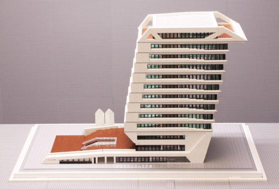 Maaiveld | Maquette bouwen in Lego bijna net zo complex als het echte werk