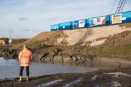 De hele wereld kijkt mee bij dijkenproeven in Eemdijk