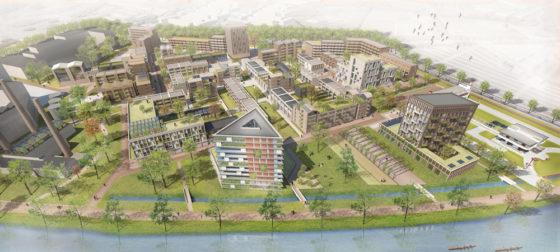 Meer dan de helft huurhuizen in Utrechtse stadswijk Merwedekanaal