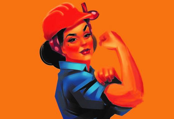Extra inspanningen voor topvrouwen in de bouw