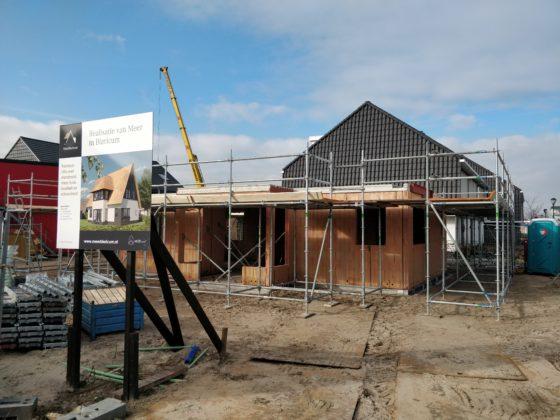 Woningbouwprojecten worden steeds kleiner