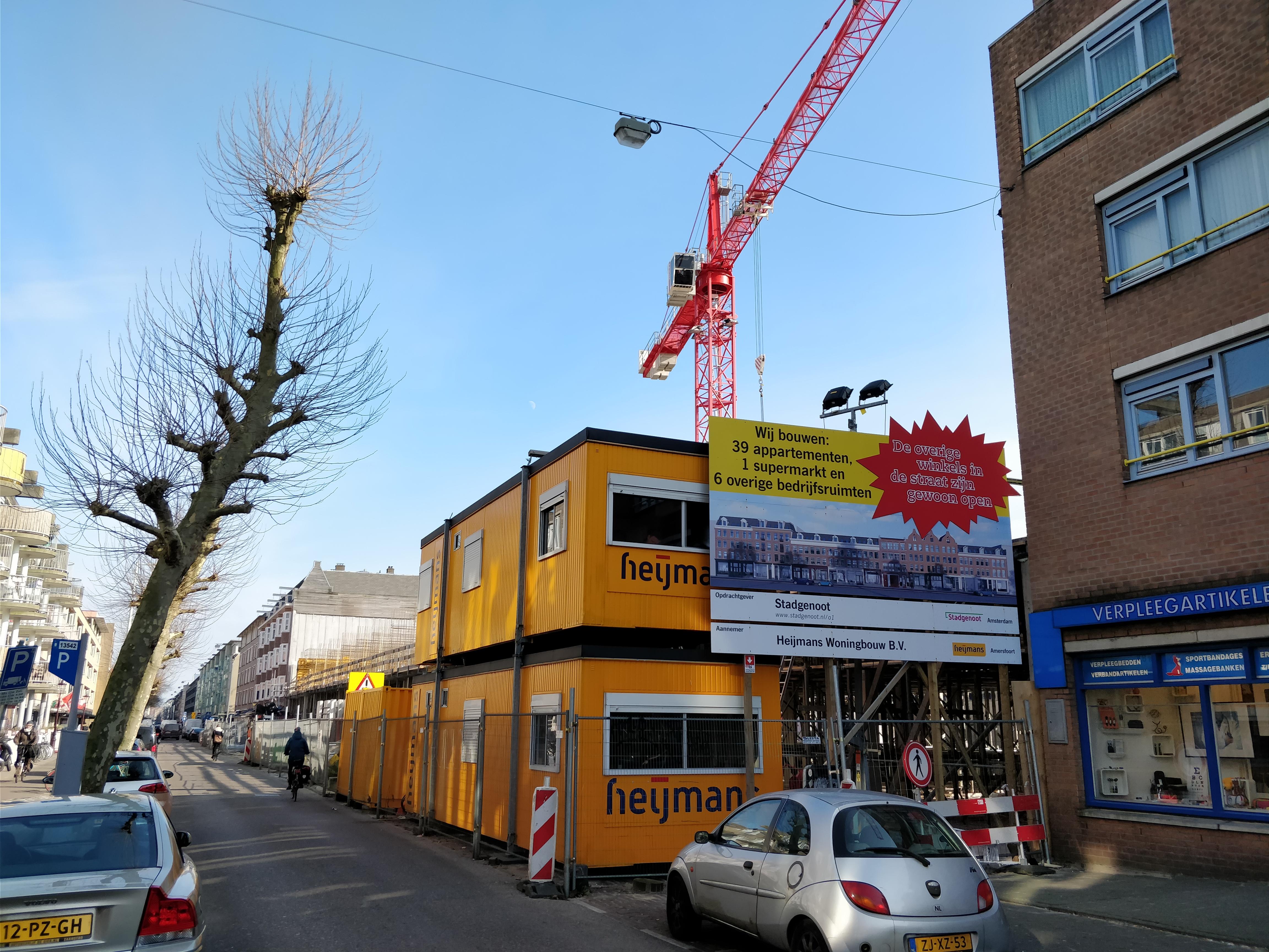 Een project van Heijmans voor corporatie Stadgenoot in Amsterdam.