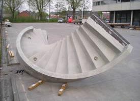 Bouwkosten.nl: ook prijzen van betonnen trappen gaan de hoogte in