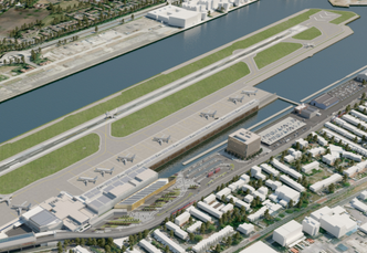 BAM breidt London City Airport uit