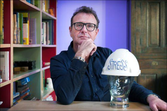 'Stress groeiend probleem in de bouw'
