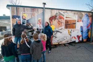 Reportage   Met bouwkeet op schoolplein laten zien dat de bouw 'cool' is