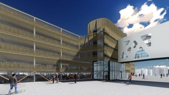 Nieuwe parkeergarage voor winkelcentrum Bisonspoor Maarssen