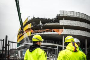 Kwartslag draaien vloer werd parkeergarage Eindhoven fataal