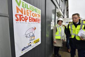 Reportage | Veiligheidsdag in de bouw: 'Je werkt veilig of je werkt niet'