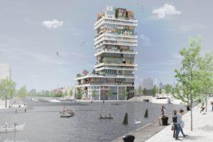 Maaiveld | Droomhuizen stapelen in een Haagse toren