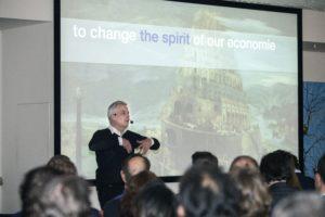 Thomas Rau op de Praktijkdag Cobouw Circulair: 'Duurzaamheid is idioot'