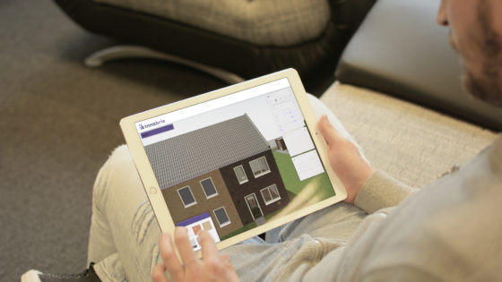 BIM in hapklare brokken op de smartphone van de huizenkoper