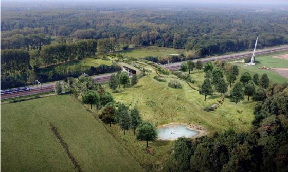 Aanleg ecoduct De Mortelen loopt fikse vertraging op